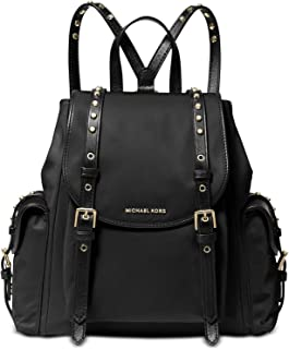 Michael Kors 30S9LI1B1C-001 SM Flat Backpack, Black