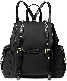 Michael Kors 30S9LI1B1C-001 SM Flat Backpack, Black