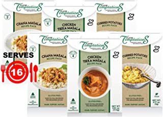 CHICKEN TIKKA MASALA, CHANA MASALA, POTATO CURRY INDIAN FOOD SPICES by Flavor Temptations. Home Cook Variety of Dishes wit...