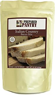 The Prepared Pantry Italian Country Bread Mix; Single Pack; For Bread Machine or Oven