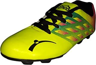 Enco Football Sports Shoes Nitro 1.0 Light Weight Soccer FLU GRN/MAR/BLK