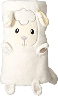 Quiltex Kids' Toddler Fuzzy and Cozy Plush Animal Blankets