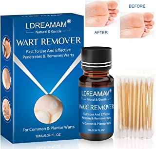 Wart Remover,Foot Wart Remover,Plantar Wart Remover,Wart Liquid,Painlessly Removes Common and Plantar Warts