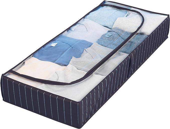 1173 opinioni per WENKO Custodia sottoletto Comfort, PEVA, 105 x 15 x 45 cm, Blu