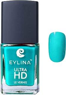 EYLINA Ultra Hd Nail Polish, Teal Blue, 9ml