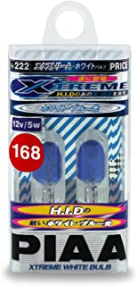 PIAA 19172 168 Xtreme White Wedge Bulb Xtreme White Wedge Bulb, (Pack of 2)