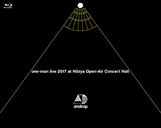 one-man live 2017 at 日比谷野外大音楽堂 [Blu-ray] [DVD]