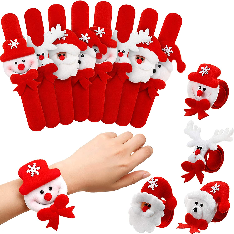 20 Pieces Christmas Discount is also underway Spasm price Slap Bracelets Party Bracelet Snap
