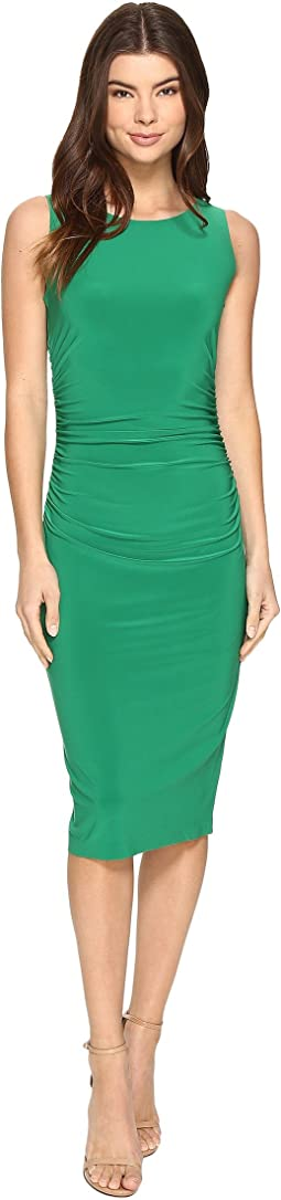 KAMALIKULTURE by Norma Kamali - Sleeveless Shirred Waist Dress