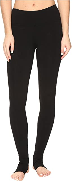 Flat Waist Stirrup Leggings