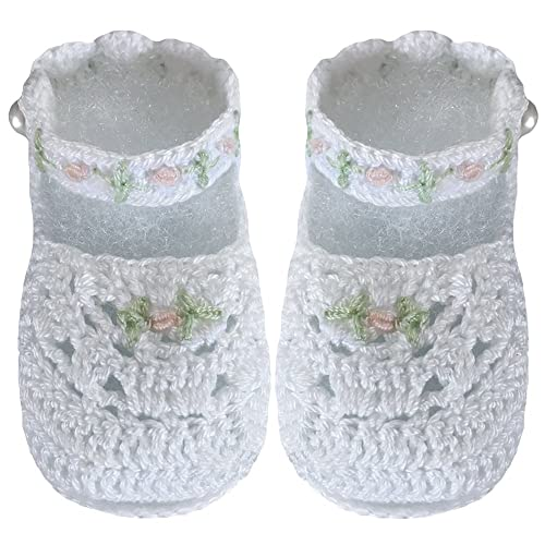 Clothing, Shoes & Accessories Beautiful Hand-crocheted Baby Set **jacket+hat+booties**white/lilac Ribbons ** The Latest Fashion Baby & Toddler Clothing
