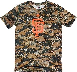 San Francisco Giants Youth Digital Camo Cool Base T-shirt