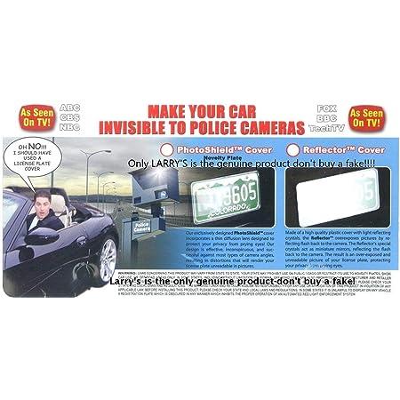Zade Original Protector Anti-Photo Radar License Plate Cover
