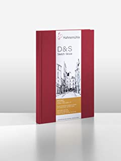 Hahnemuhle D and S Sketch Book, Portrait - A4, Red