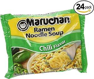 Maruchan Ramen, Chili, 3 Ounce (Pack of 24)
