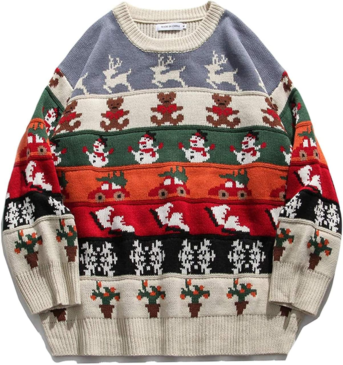 Oversize Sweaters Special price for a limited time Men Winter High Streetwear Fashion Mens Free shipping / New Pullov