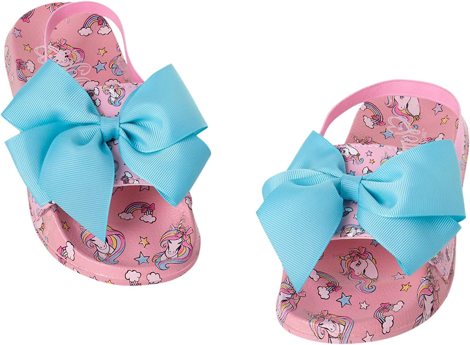 JoJo Siwa Max 90% OFF Toddler Girls Open Toe Bo Signature Sandals with Sales Slide