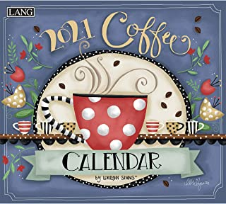 LANG Coffee 2021 Wall Calendar (21991001853)