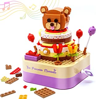 Gifts Music Box Building Toys for Girls and Boys - STEM Educational 3D Puzzle Kit, Personalized Birthday Gifts for Kids Ag...