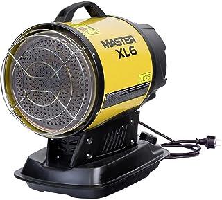 Master XL6infrarrojos 17kW Estufa gasóleo y diésel Taller calefactora, tienda, calefacción de diésel (Cañón de Halle Calefacción