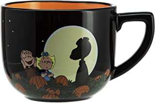 Hallmark 6MJN1510 Oversized Peanuts Mug, Large, Full Moon Snoopy