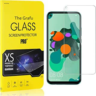 The Grafu Screen Protector Compatible with Huawei Mate 30 Lite, Tempered Glass, Scratch Resistant HD Screen Protector Film...
