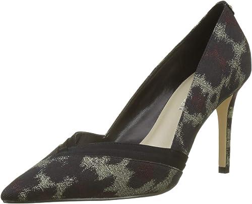 KAREN MILLEN Fashions Limited Leopard Jacquard Court chaussures, Escarpins Bout fermé Femme