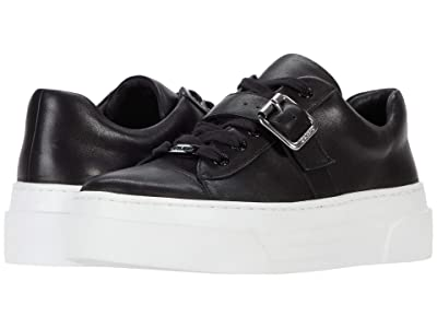 J/Slides Aba (Black Leather) Women