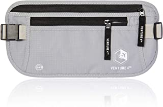 VENTURE 4TH RFID Money Belt for Men and Women - Hidden Passport Holder