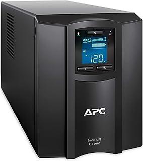 وحدة تزويد الطاقة اللامنقطعة سمارت يو بي اس - سي بشاشة ال سي دي من ايه بي سي، 1000 وات، 230 فولت امبير، SMC1000IC