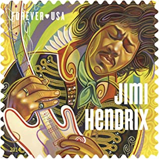 Jimi Hendrix Forever Stamp Sheet of 16, New
