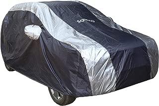 Amazon Brand - Solimo Hyundai Creta Water Resistant Car Cover (Dark Blue & Silver)