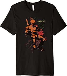 Star Wars Jango Fett Attack Premium T-Shirt