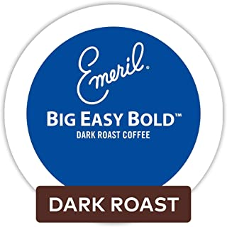 Emeril's Big Easy Bold Coffee K-Cup Portion Pack for Keurig Brewers, 24-Count(Pack of 4)