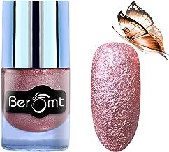 Beromt Premium Sand Matte Nail Polish, Color Crush, Party Girl Nail Paint, Nail Art Effect, Pink,605, 10 ml