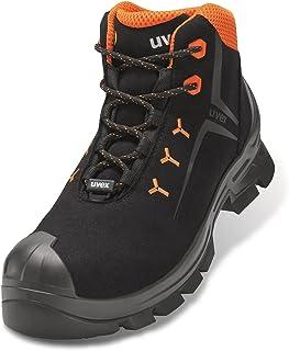 Uvex 6529 2 S3 Hi HRO SRC, Botte Industrielle Mixte, Orange/Noir, 41 EU