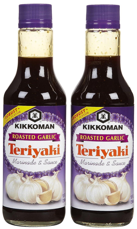 Kikkoman Roasted Garlic Teriyaki Marinade pk Sauce 10 oz Genuine Free Shipping 2 outlet