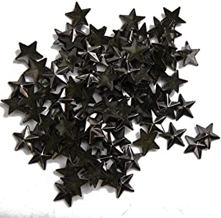 Beadsland Hotfix Iron On, 13x13mm Flat Back Stars Studs - 1/4