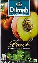 dilmah peach tea bags