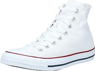 حذاء رياضي كونفيرس للجنسين أبيض بصري منخفض الرقبة