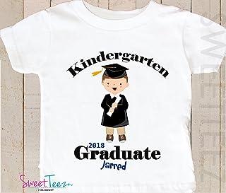 Kindergarten Graduation Shirt Personalized Shirt Graduation Gift Shirt Gift Kids