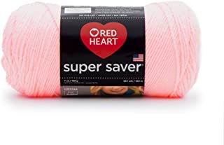 RED HEART SUPER SAVER YARN, PETAL PINK (E300B.0373)