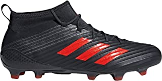 adidas Performance Mens Predator Flare Firm Ground Rugby Boots - Black - 13.5