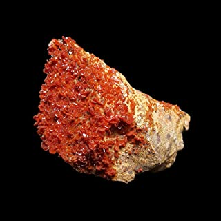 Gemstone 213g Natural Stone Vanadinite Mineral Crystal Specimen Home Decoration From Morocco A5-1 crystal