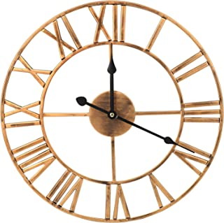 Best wrought iron wall clock roman numerals Reviews