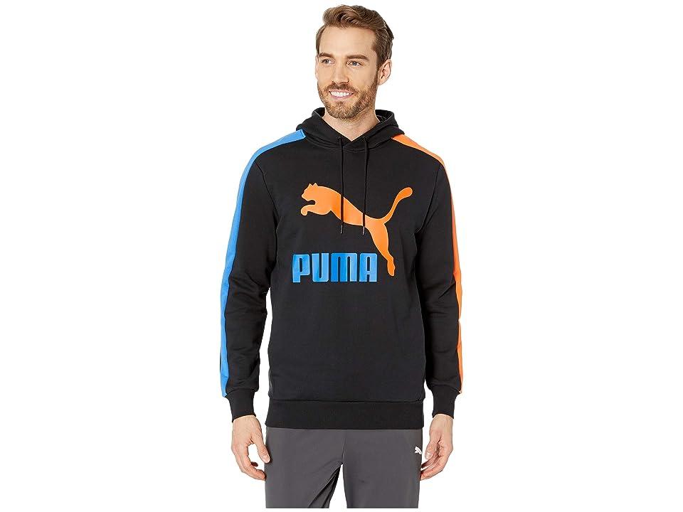 PUMA Classics T7 Logo Hoodie TR (PUMA Black) Men