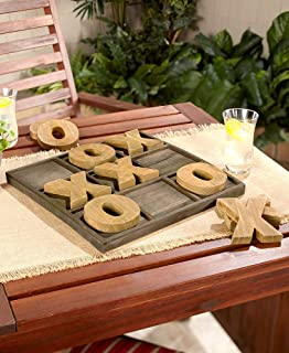 Jumbo Wood Indoor / Outdoor TIc Tac Toe Game with Board.....