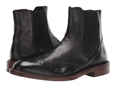 J&M EST. 1850 Bryson Zip Gore Boot (Black) Men