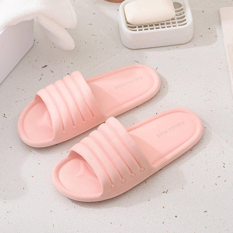 NC Unisex Summer Women Home Slippers Floor Flat Shoes Indoor Eva Flip Flops Female Non-Slip Men Bathroom Indoor Slippers Sandals