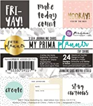 Prima Marketing 655350592219 My Prima Planner Embelishments Planner Journaling Cards - Stay Curious